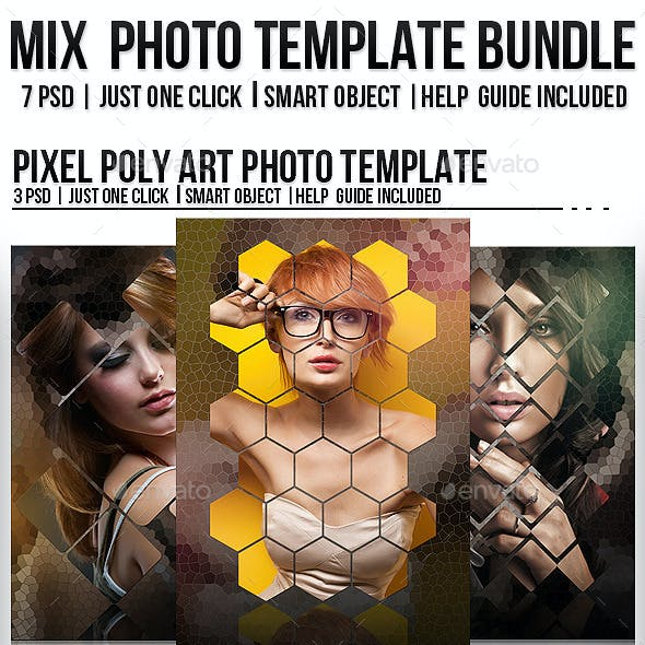 2 Mix Photo Template Bundle