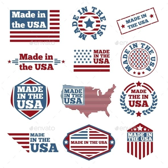 Made In USA Labels