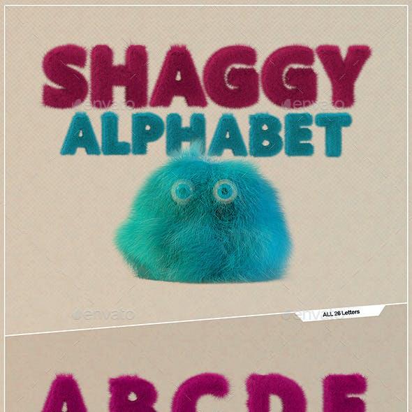 Shaggy Alphabet