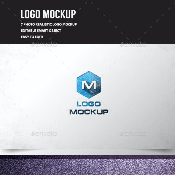 3D Logo Mockup Vol.3