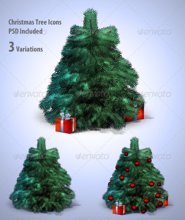 Christmas Tree - Objects Illustrations