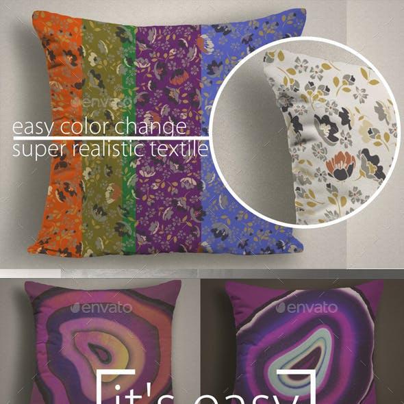 FotoRealistic cushion Mockup