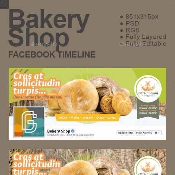 Bakery Shop Timeline