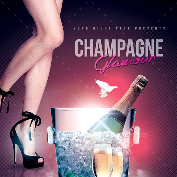 Glamorous Champagne Night