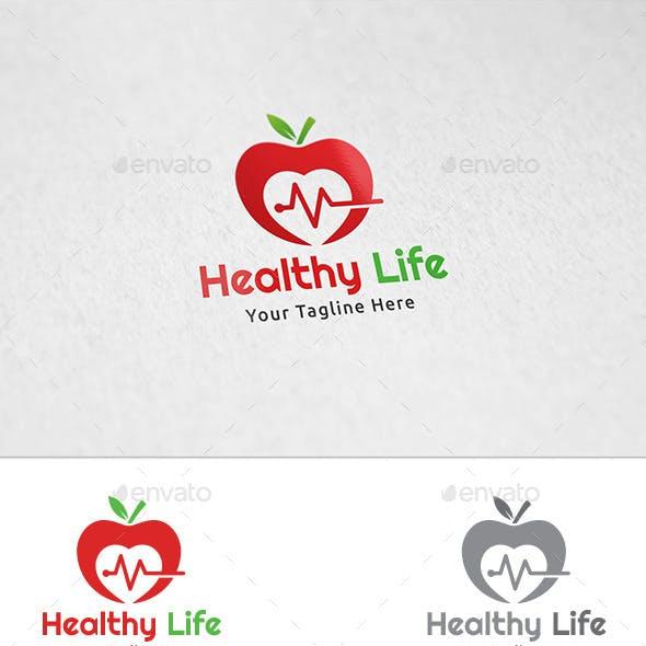 Healthy Life - Logo Template