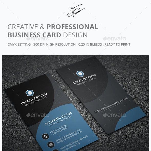 Creative & Professional Business card