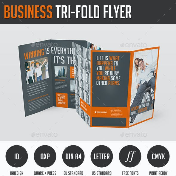 Business Tri-Fold Flyer