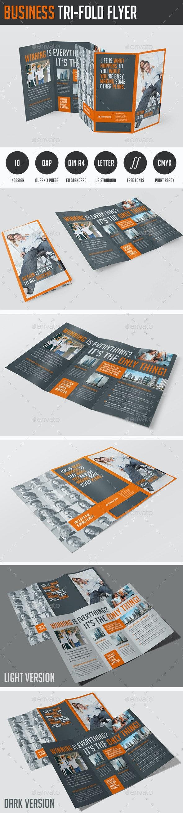 Business Tri-Fold Flyer - Corporate Brochures