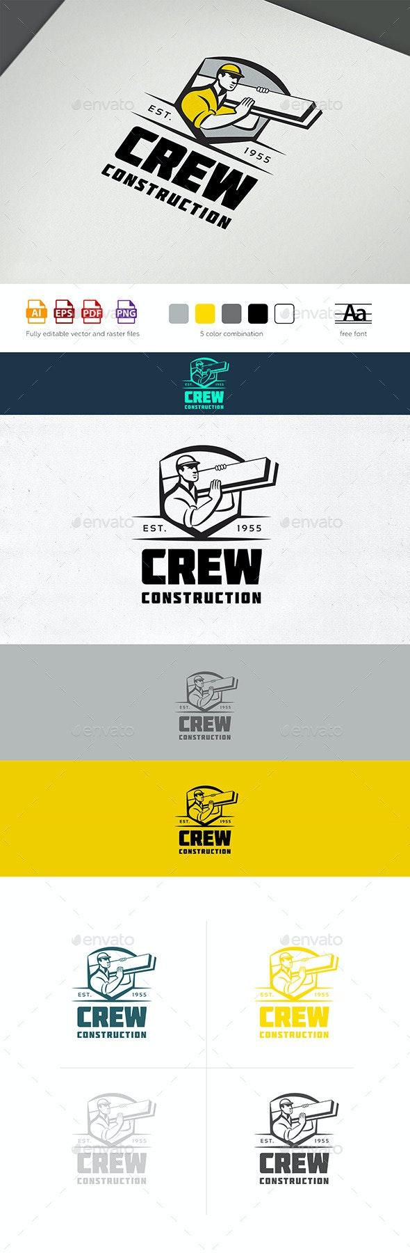 Construction Crew Logo - Humans Logo Templates