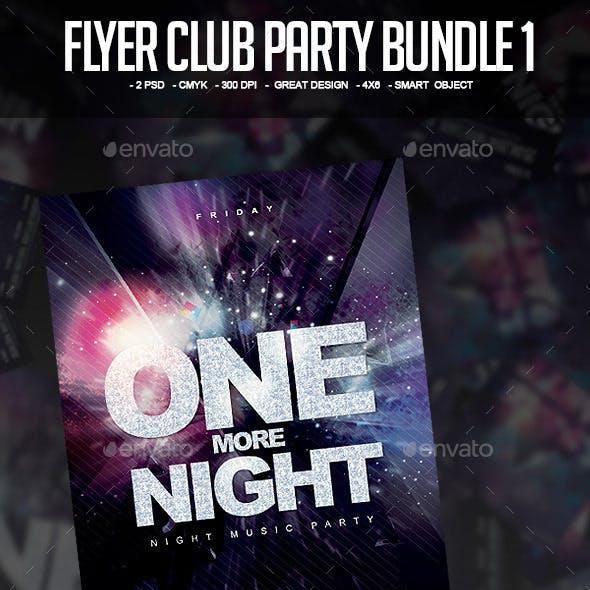 Bundle Flyer Club Party Vol.1
