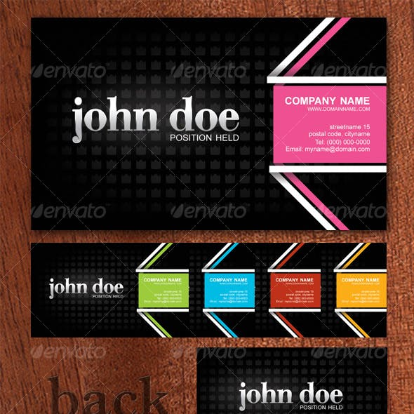 Business card with style