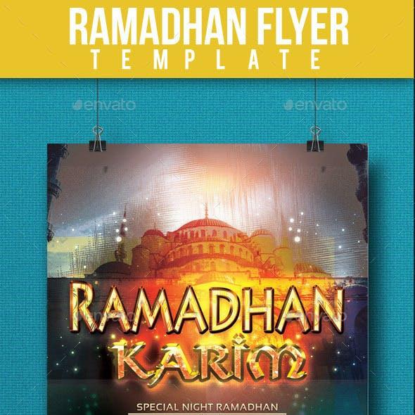 Ramadhan Flyer Template