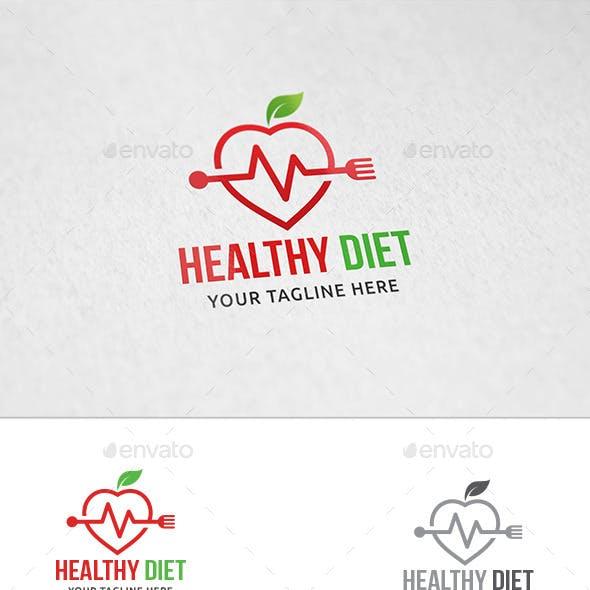 Healthy Diet - Logo Template