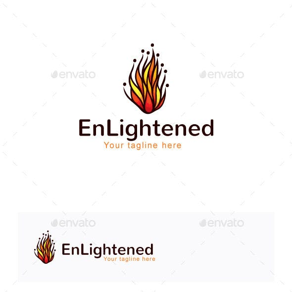 Enlightened Stock Logo Template