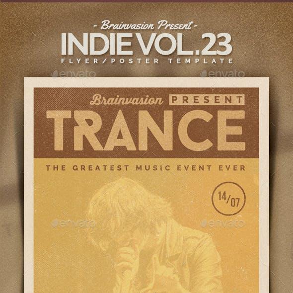 Indie Flyer Template Vol.23
