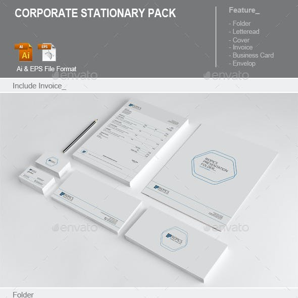 Corporate Stationary Pack