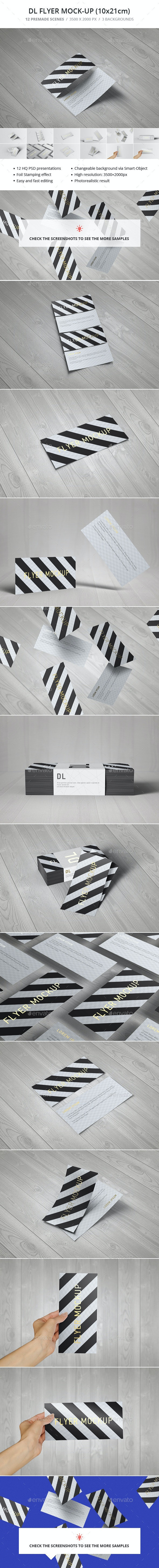 DL Flyer Mock-up - Flyers Print