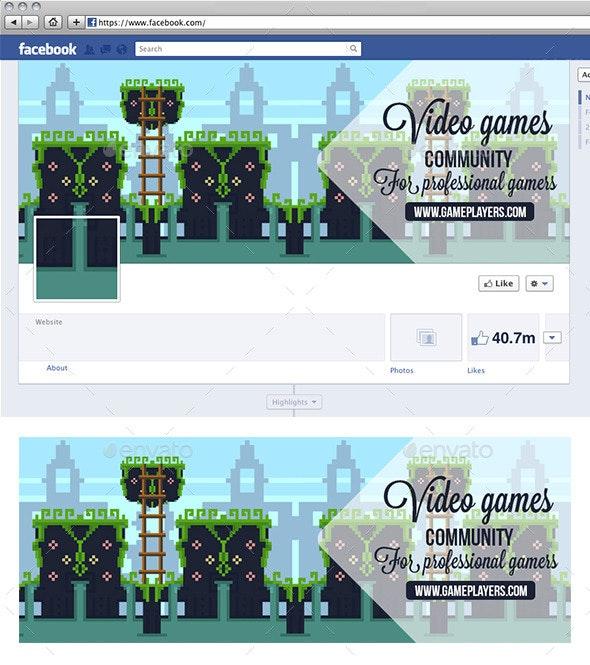 Video Game Facebook Timeline