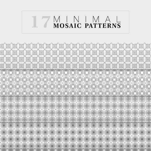 17 Mosaic Minimal Patterns