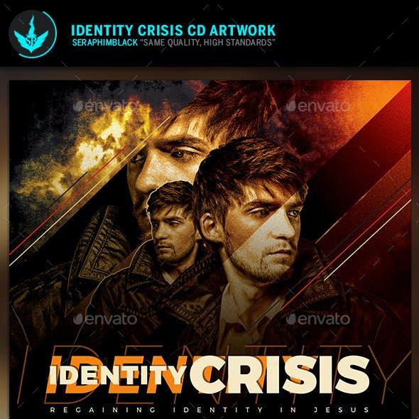 Identity Crisis CD Artwork  Template