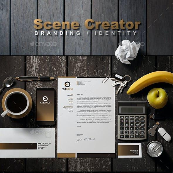 Branding / Identity Scene Creator