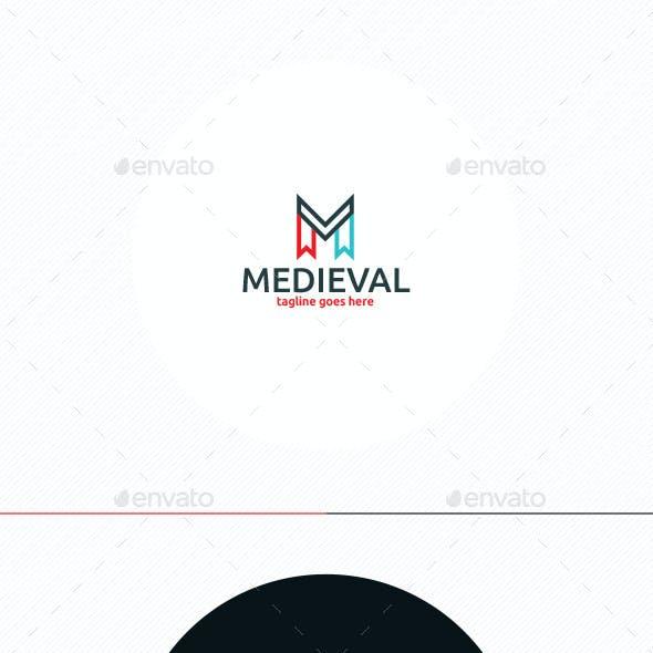 Medieval Logo • Letter M