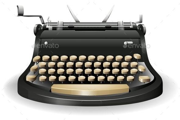 Typewriter - Miscellaneous Conceptual