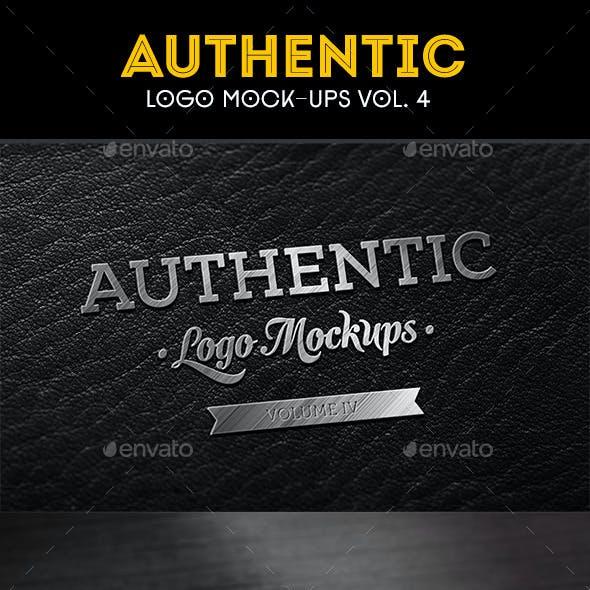 Authentic Logo Mockups Vol. 4