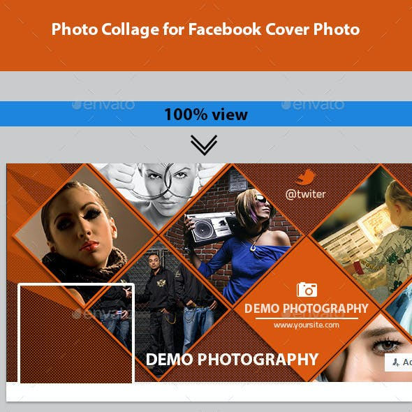 Photo Collage for Facebook Cover Photo