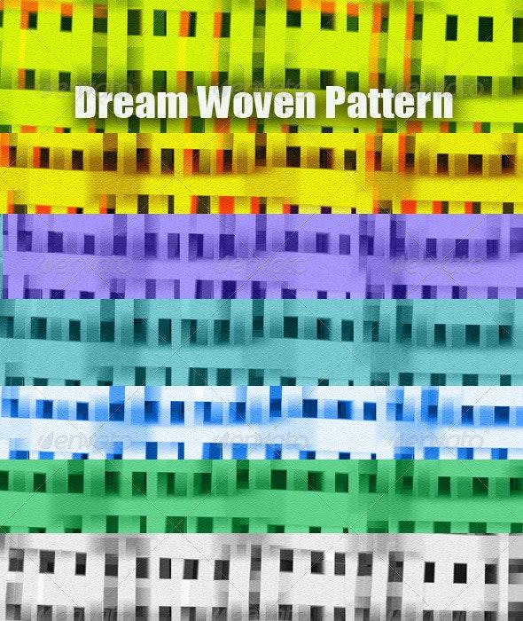 Dream Woven Pattern - Patterns Backgrounds