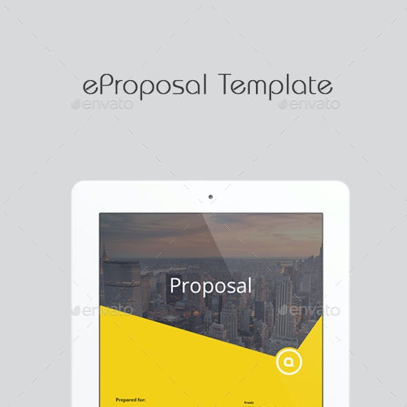eProposal Template
