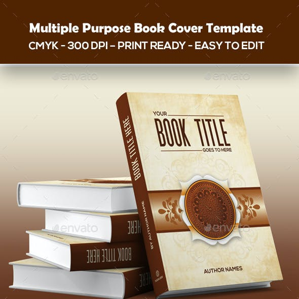 Multiple Purpose Book Cover Template