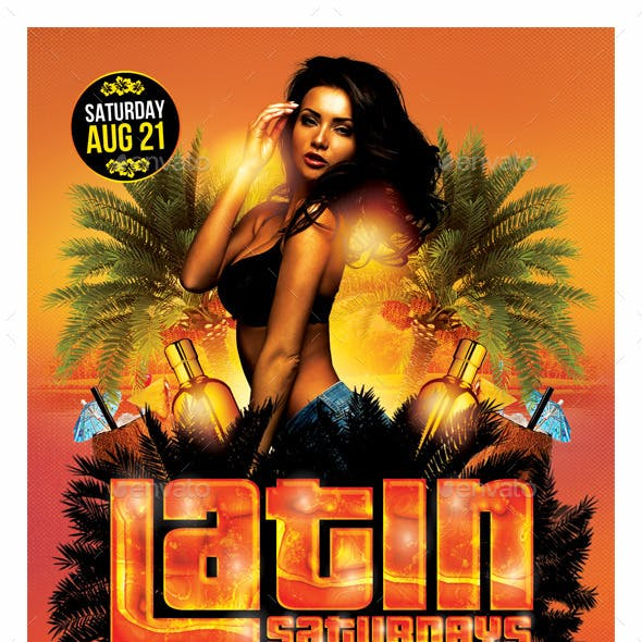 Latin Night Flyer