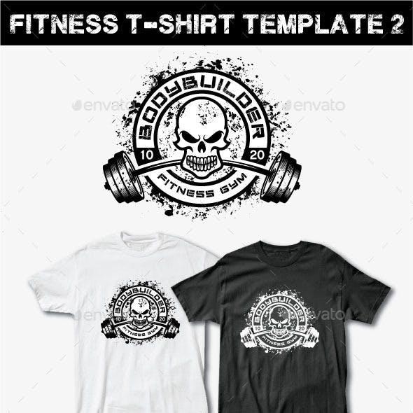 Fitness T-Shirt Template 2