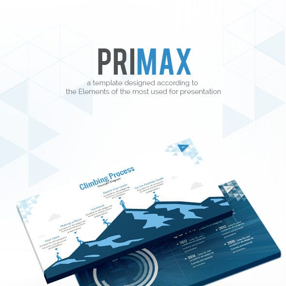 PRIMAX Powerpoint Template - Break the Limits