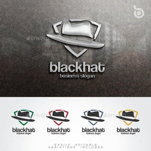Black Hat Logo Human