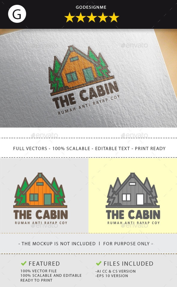 The Cabin - Nature Logo Templates