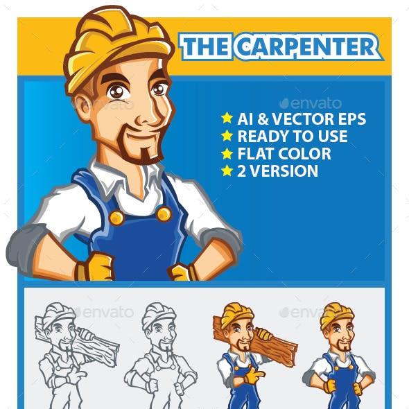 The Carpenter Mascot