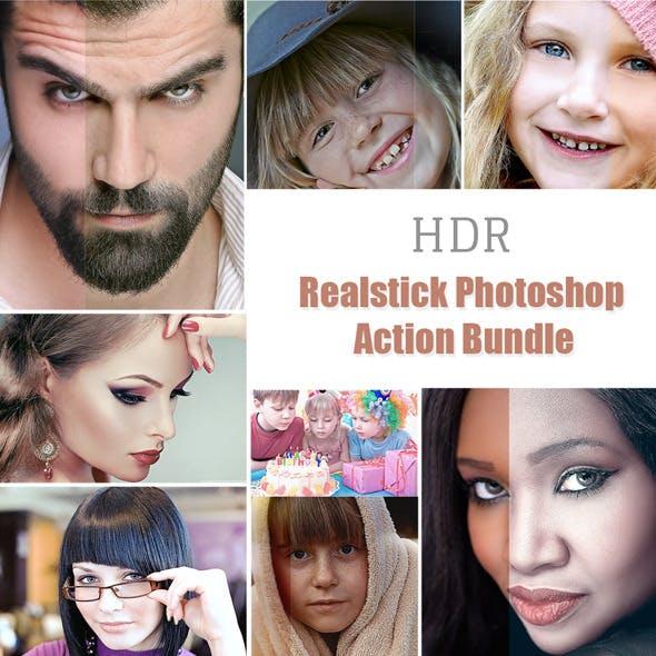 Realstick Photoshop Action Bundle