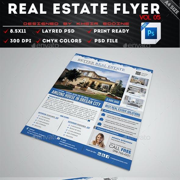 Real Estate Flyer Vol 05