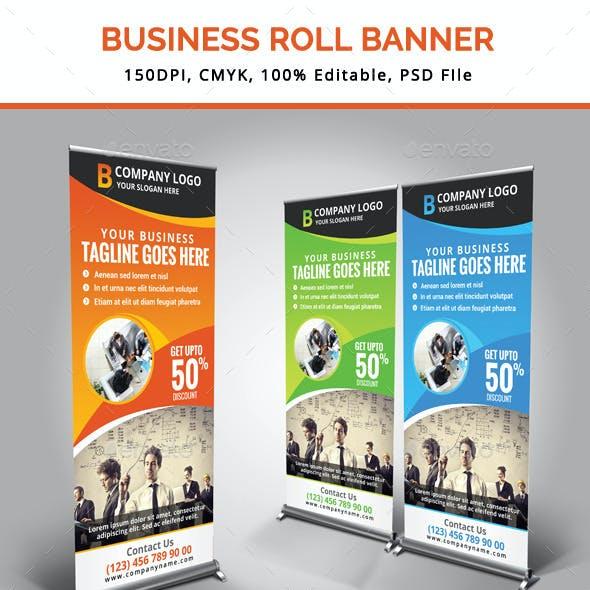 Business Roll Up Banner V12