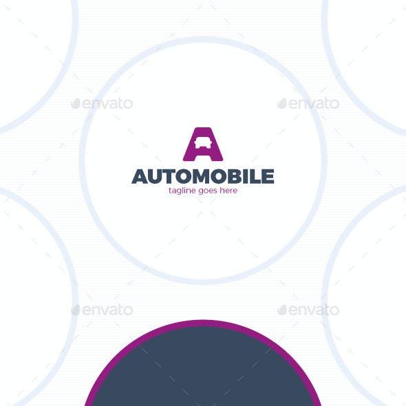 Letter A Logo - Auto - Car