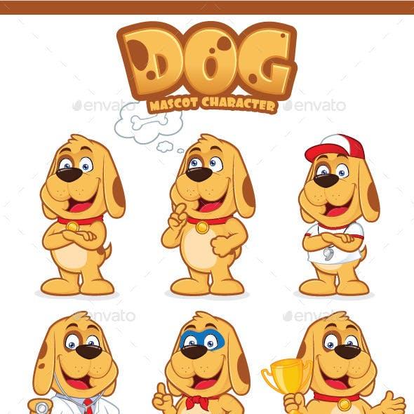 Dog Mascot Character