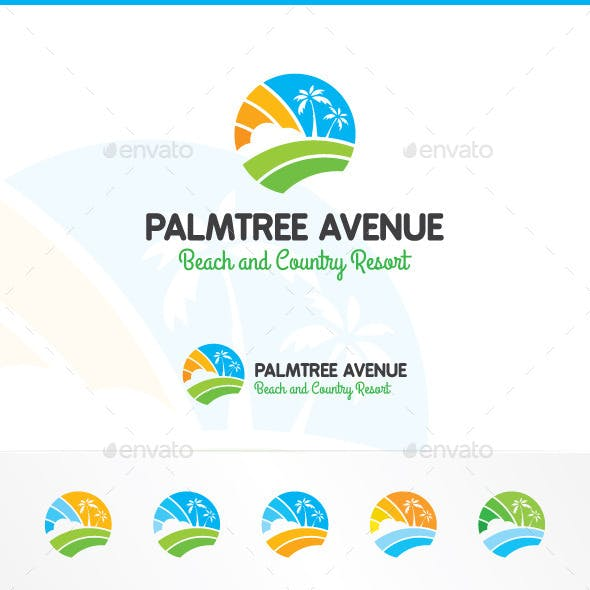 Palm Tree Avenue Logo