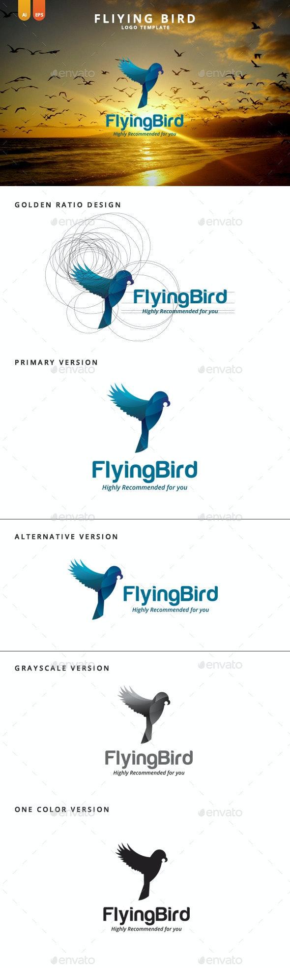 Flying Bird - Logo Template