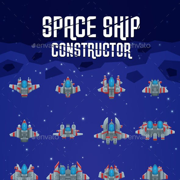 Space Shooter Ship Constructor