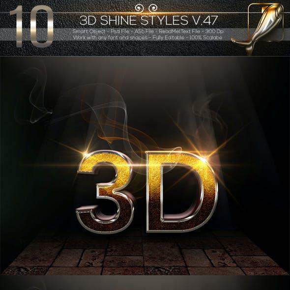 10 3D Text Styles V.47