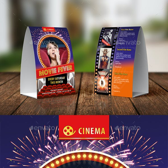 Cinema Club Table Tent Template 16