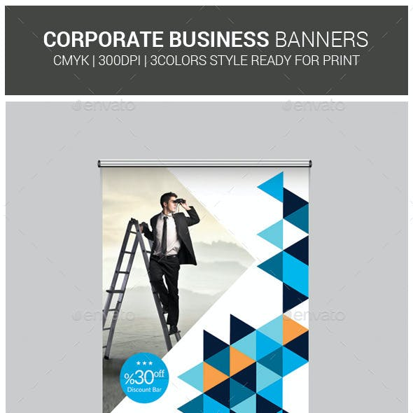 Multipurpose Roll-Up Banners Bundle