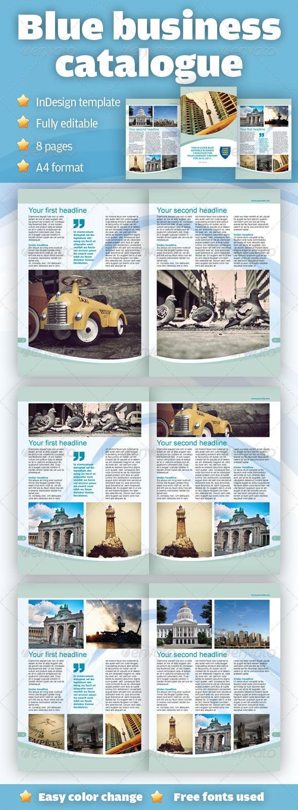Clean Blue Business Catalogue - Catalogs Brochures